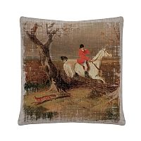 Downton Abbey Fox Sighting Pillow