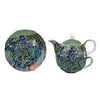 Irises Tea Set