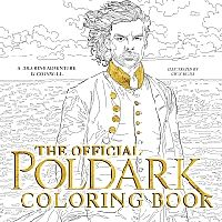 The Official Poldark Coloring Book