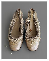 Fashion Beaded Shoes