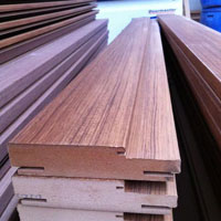 Pvc Wrapping Mdf Door Frame