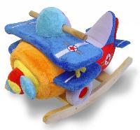 Plush Airplane Rocker