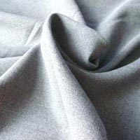 Grey Drill Weave Cotton Fabric