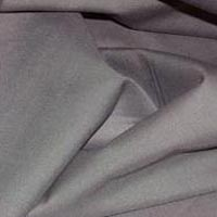 Grey Satin Weave Cotton Fabric