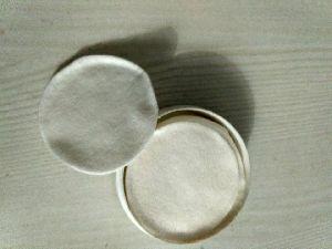 Round cotton pad making machine
