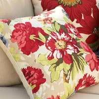 Printed Flowers Cushion Covers