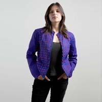 Ladies  Applique Jacket