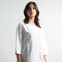 Ladies Applique Kurta