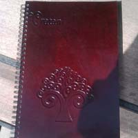 Organic Leather Notebook
