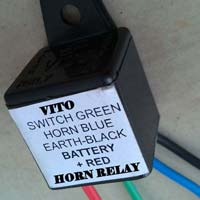 Automotive Horn Relay with Wire