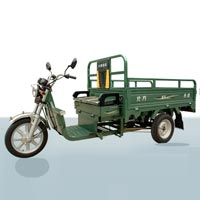 Battery Cargo Rickshaw