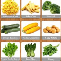 Exotic Vegetables - Manufacturers, Suppliers & Exporters in India