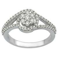 Diamond White Gold Ring (cwdwgr0002)