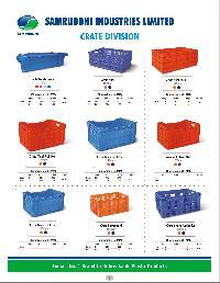 Unbreakable Plastic Crates