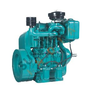 Double Cylinder Water-Cooled Diesel Engines 15 to 28HP