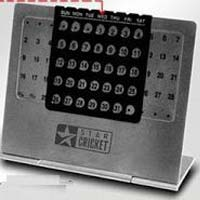 Stainless Steel Calendar