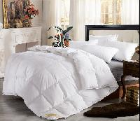 Washed White/grey Goose/duck Feather/ Down Quilt Duvet Comforter
