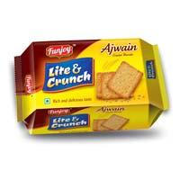 Ajwain Cracker Biscuits
