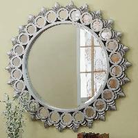 silver glass mirror