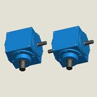 Straight Bevel Gearboxes