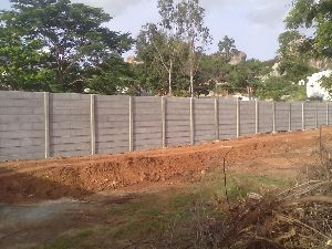 Open Land Compound Wall