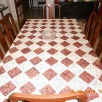 Table Cover with Kalamkari Work