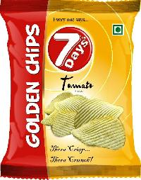 7Days Golden Potato Chips - Tomato