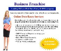 Business Proposal for Franchise of Josoft Technologies Data Entry Proj