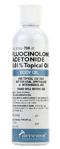Fluocinolone Acetonide Body Oil
