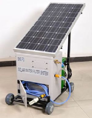 Mobile Solar Water Purification System