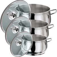 Stainless Steel Tall Belly Casserole