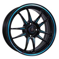 15'' 100x4 BKVBUB Automotive Wheels