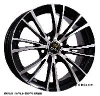 Pr-981 15 4h Fmbk Pr-105 14 10h Mb+red Alloy Wheels