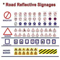 Road Reflector Signages