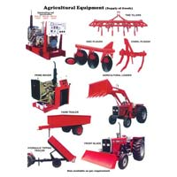 Agricultural Machinery And Equipments ( Tractor	 Tractor Spares	 Leveling Blade, Harrow, Cultivators)