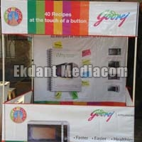 Canopy Stall Designing & Printing
