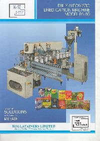 Soya Nuggets Carton Machine