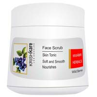 Wild Berries Herbal Face Scrub