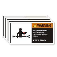 Agricultural Equipment Labels