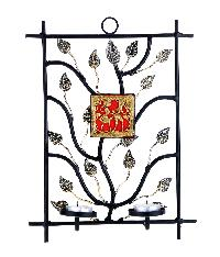Wrought Iron Candle Sconce