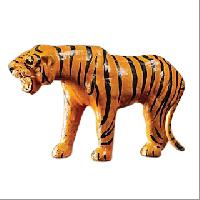 Leather Tiger Toy