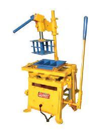 hand operated concrete block making machine