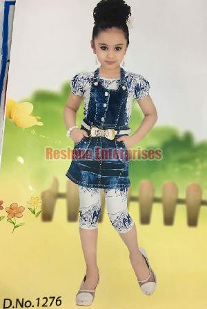 Dungree With Legging And Inner