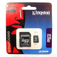 4 GB Kingston Memory Card