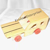 Wooden Style Car