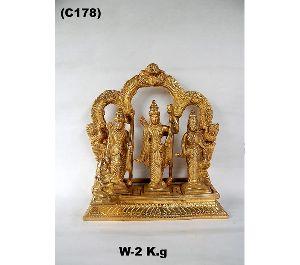 Brass Ram Darbar Statues