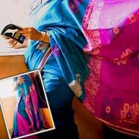 Handloom Sarees With Jamdani Work