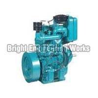 Double Cylinder Water Cooled Diesel Engine