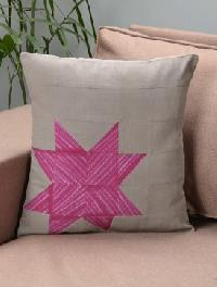 dyed cotton cushion