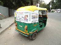 Auto Rickshaw Advertisement Service